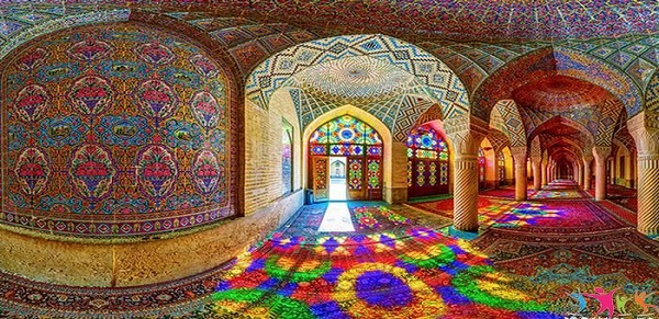 Photos of tourist attractions in Iran