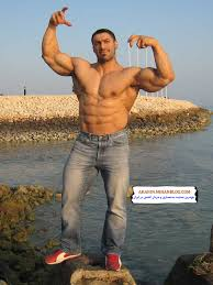 Boys and men bodybuilder