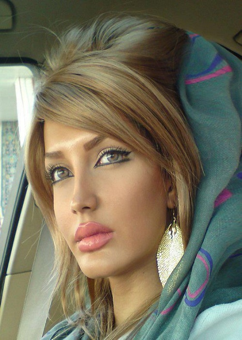 Beautiful girl in Iran