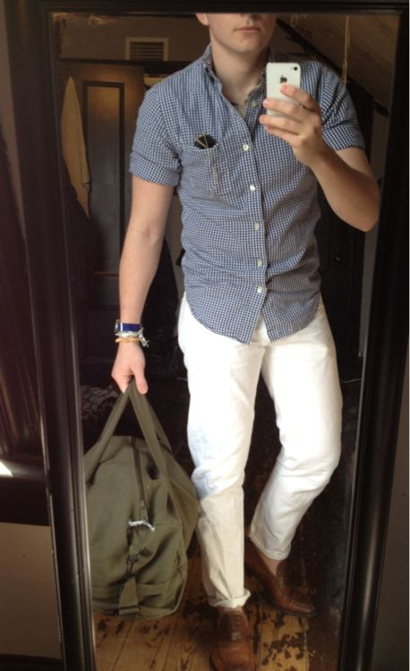 Men's White Pants
